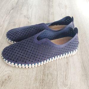 ILSE JACOBSEN blue tulip shoes